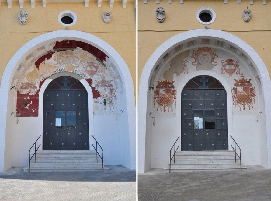 Rinascono gli affreschi della chiesa di Santa Maria del Parto a Mergellina