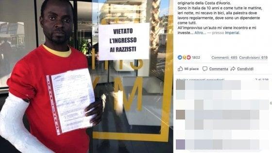 Razzismo, insultano, investono e picchiano col cric un ivoriano nel Napoletano: denunciati 4 ragazzi