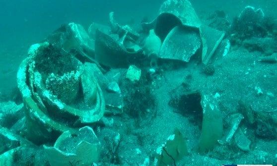 Trovato un antico relitto al largo della Gaiola