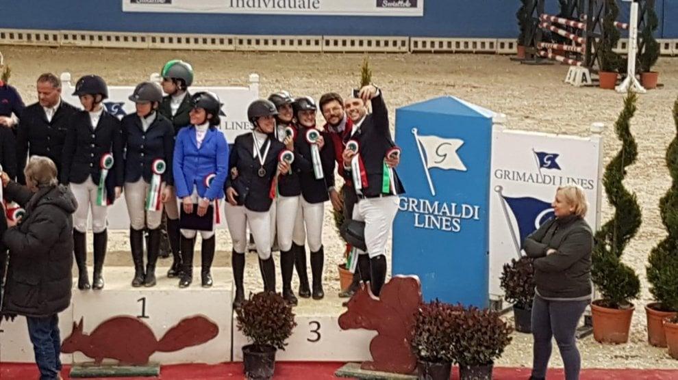 Ippica, campionati indoor a ostacoli: Campania protagonista