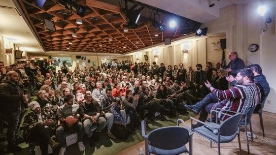 """Salvatore Esposito racconta la sua """"Gomorra"""" alla New York University"""