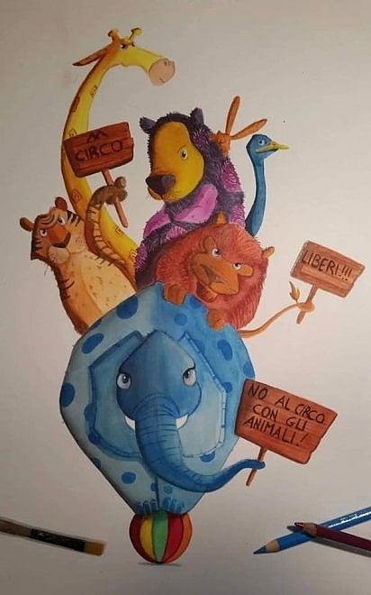 Sit-in, petizioni e locandine virali: Ischia dice no al circo con gli animali