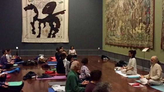 Yoga nei musei corsi gratuiti e meditazione da Capodimonte a San Martino