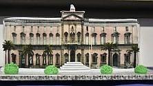 Mann, una torta a forma di museo per Giulierini