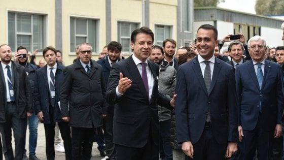 Di Maio e Conte a Pomigliano: apre il Campus di Leonardo