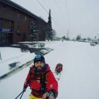 Da Potenza in Alaska: il maestro di sci sfida i ghiacciai