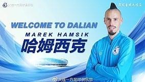 Il Dalian annuncia l'acquisto dell'ex capitano del Napoli. Indosserà ancora la maglia numero 17