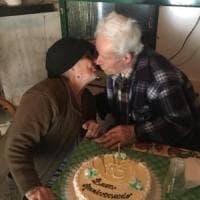 Amore da record in Cilento, sposati da 73 anni: