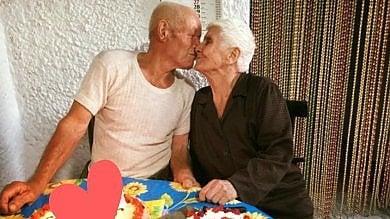 """Guerino e Sofia,   sposati da 73 anni :  """"Il segreto? Sopportarsi a vicenda"""""""
