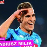 Calcio, figurine Panini extra per Milik: