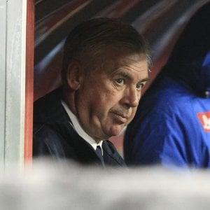 """Napoli, Ancelotti: """"Mia moglie può parlare di tattica, sono io che a casa preferisco staccare la spina"""""""