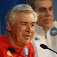 Napoli, la conferenza stampa di Ancelotti