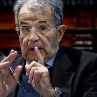 """Prodi a Napoli: """"Governo Lega-M5S? Il potere è un collante forte, il governo non cadrà"""""""