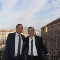 Il sindaco Sala a Napoli: