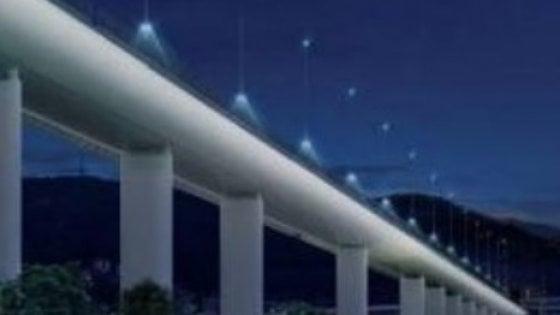 Prove tecniche della ricostruzione del ponte Morandi, prototipo realizzato nel cantiere di Castellammare