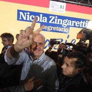 Primarie Pd: Zingaretti vince a Napoli, Annunziata segretario regionale