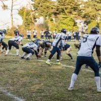 Football, sulla linea di scrimmage: il derby di Napoli tra Briganti e 82ers
