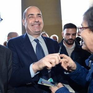 Primarie Pd, Zingaretti al 60 per cento in provincia di Caserta