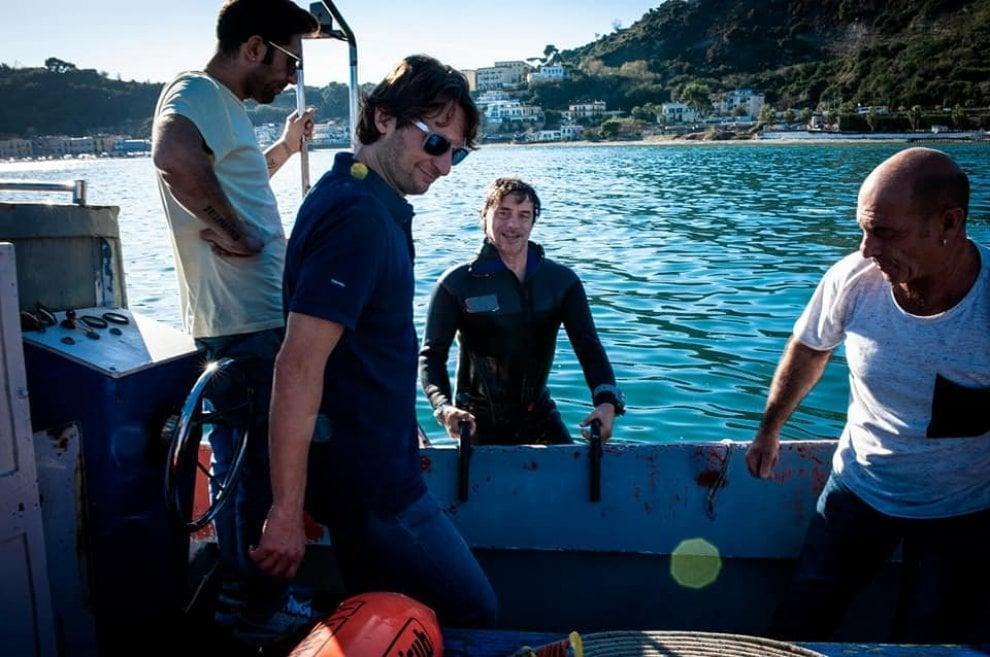 """Alberto Angela racconta le """"Meraviglie"""" di Baia, ecco alcune immagini della prima puntata"""