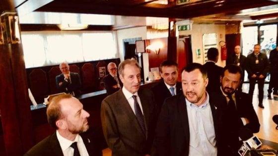 """Potenza, Salvini: """"Il cambiamento ci sarà anche in Basilicata"""""""