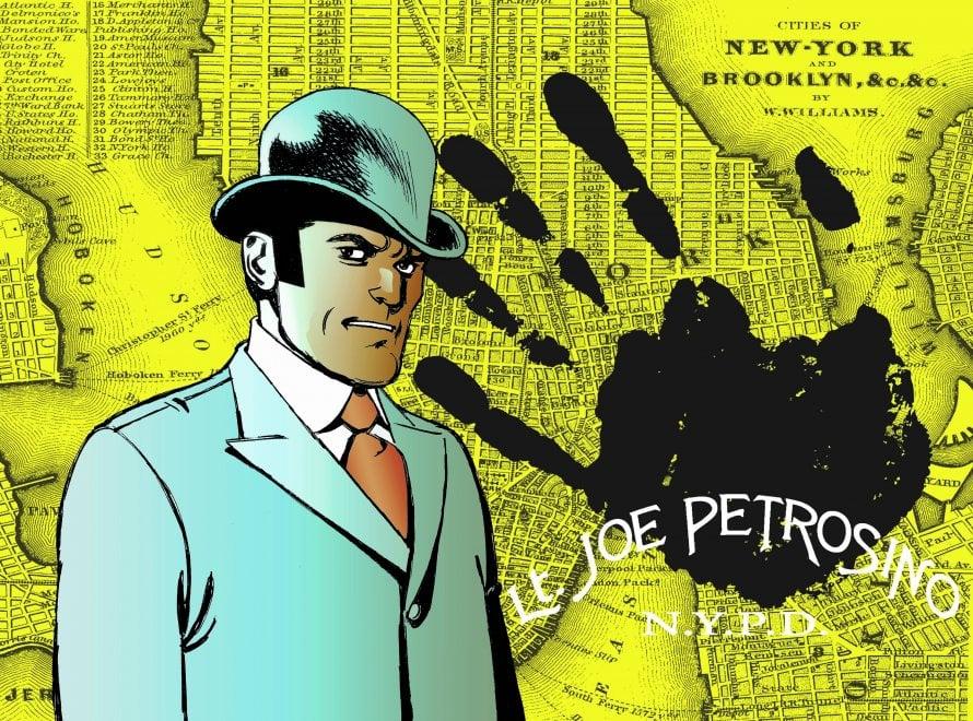 Joe Petrosino, il disegno-tributo  di Onofrio Catacchio a 110 anni dal delitto del grande poliziotto antimafia
