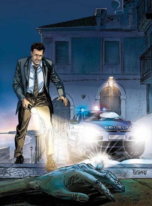 """""""Il Commissario Mascherpa"""": il fumetto ufficiale della Polizia di Stato"""