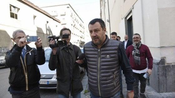 Salvini a Napoli:  41bis certificato per Marco Di Lauro, ad aprile giù la Vela verde