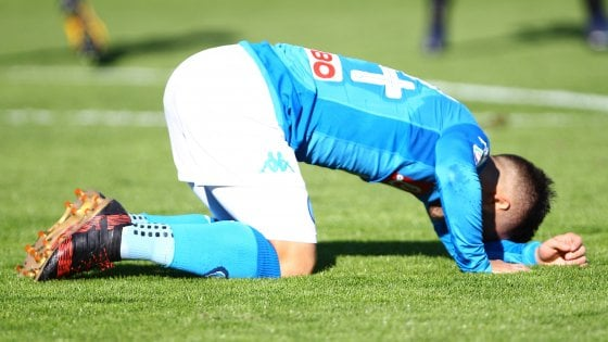 Napoli, Insigne ko. Ancelotti, che tegola: tre infortuni prima dell'Arsenal