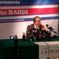 Potenza, prima conferenza stampa del governatore Bardi:
