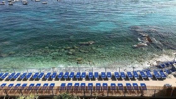 """Capri, ecco il primo stabilimento balneare """"plastic free"""""""
