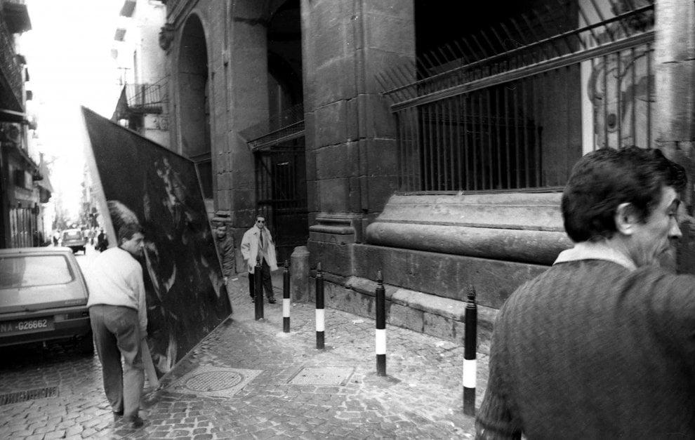 """Così le """"Sette opere"""" di Caravaggio tornarono al Pio Monte della Misericordia nel 1991"""