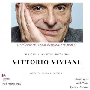 Vittorio Viviani al Liceo Manzoni di Caserta