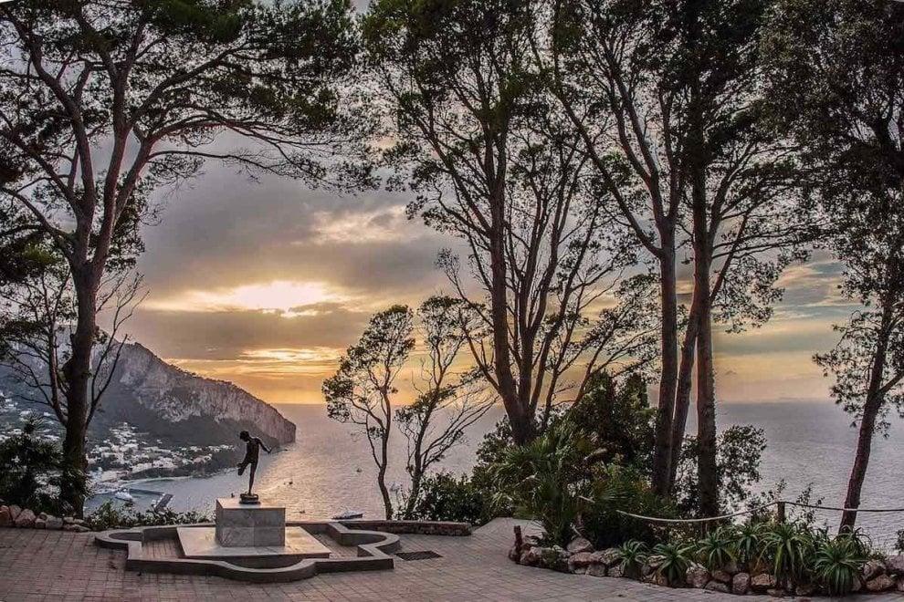 Capri, riapre Villa Lysis