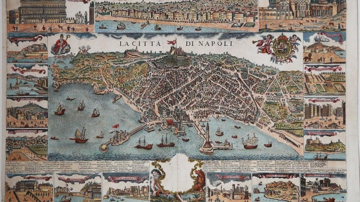 La Cartina Di Napoli.Un Antica Mappa Di Napoli Alla Fiera Map Fair La Repubblica