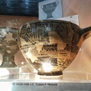 Ischia, la Coppa di Nestore vola al British Museum