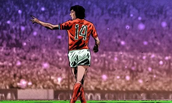 """Quando Cruyff spiegò l'errore """"mondiale"""" di Krol"""