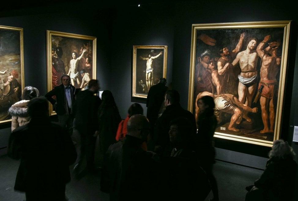 """Capodimonte: in mostra sei capolavori di Caravaggio, c'è la navetta per le """"Sette opere"""" al Pio Monte"""