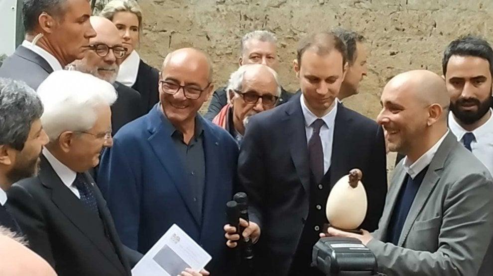 Il presidente Mattarella alle Catacombe di San Gennaro e in visita al Rione Sanità