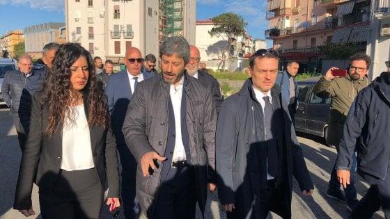 """Napoli, Roberto Fico a San Giovanni a Teduccio: """"Serve un patto sociale contro la camorra"""""""