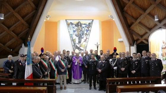 Ariano irpino, i carabinieri al precetto pasquale