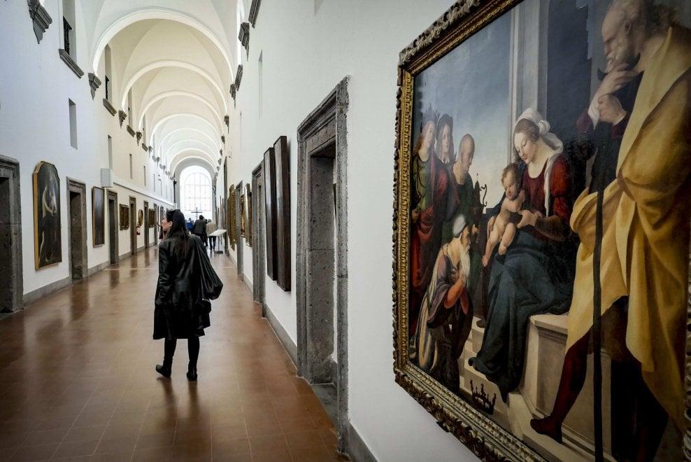 Napoli, Girolamini, la Quadreria riapre ma pochi i custodi