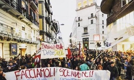"""Napoli, sette denunce per il corteo per la """"Sea watch"""": c'è anche la consigliera comunale di Dema"""