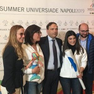 Universiade, a Napoli,  ecco fiaccola e mascotte