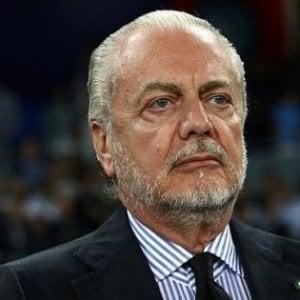 Napoli, De Laurentiis crede nella rimonta contro l'Arsenal