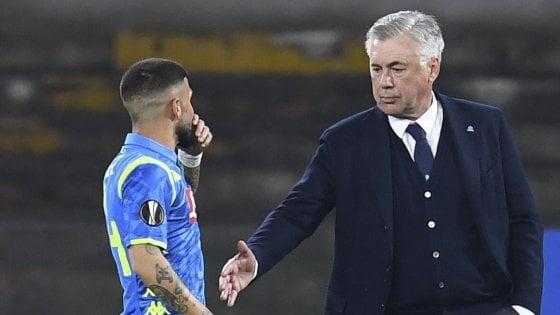 """Napoli, papà di Insigne attacca Ancelotti: """"È un pacco"""". Poi la smentita: """"Mai detto"""""""