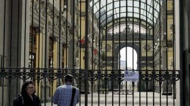"""Chiusa da mesi la Galleria Principe, l'assessora Clemente: """"Il 23 aprile via ai lavori sui fregi pericolanti"""""""