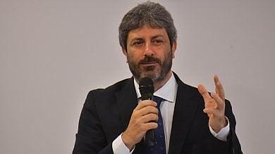 Il presidente della Camera Fico a Napoli per il 25 Aprile