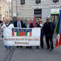Benevento, corteo, letture e canzoni per il 25 aprile