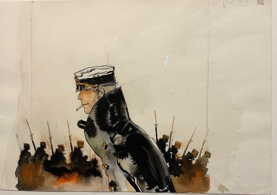Comicon, una mostra su Hugo Pratt e il suo Corto Maltese al Mann