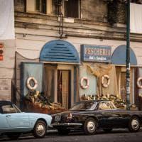 """Si gira """"L'amica geniale"""": l'incanto della Napoli anni Sessanta in piazza Carlo III"""
